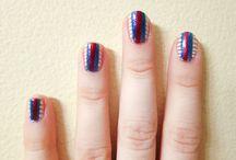 Festive Fourth of July Fingernail Designs