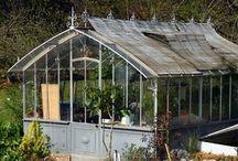 Garden sheds, garden furniture