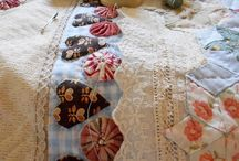 quilts and lace