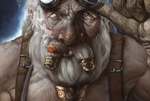 {Fantasy & Steampunk Illustrations I Dig} / by Ross Wineinger
