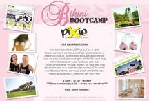 PIXIE Bikini Bootcamp! / Op 5 april a.s. gaan we aan de bak! Letterlijk. Pixie.nl lanceert haar nieuwe webshop & de steengoeie nieuwe sportcollectie van quality brand Pixie en dat doen we natuurlijk héél actief: we gaan bootcampen met NL's bekendste instructeur Barbara den Bak. Heb je dit gelezen en ben je zo geinspireerd dat je gewoon je eigen customized Pixie sportoutfit wilt? www.pixie.nl.