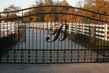 farm entry gate