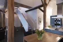 Keuken en woonkamer