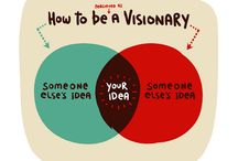 be a visionary / #business #smallbusiness #homebusiness #entrepreneurship #entrepreneur #etsy #success #inspiration #visionary #leaders #tips #design #marketing #promotion