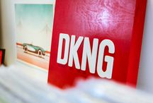DKNG / DKNG is all about music, film and design. I am very passionate about music and film, I have always loved looking at album cover art. They're always so creative and you can do anything with them. Film can also be so creative, and the way this company creates its work is just so interesting and appealing to me.