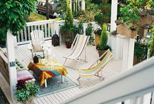 Inspiration for Porch Decorating / by Caroline Morgan