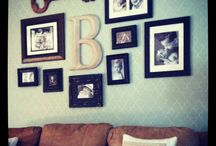 wall decor / by Crystal Kerns-Ball