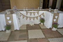 Διακόσμηση γάμου λεβάντα / Μοντέρνα διακόσμηση γάμου