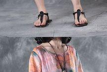 Midi dresses and pants