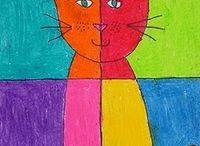 kolorowy kot