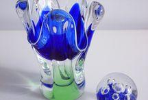 Made in Czechoslovakia / Glass from Czechoslovakia