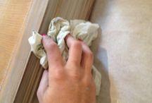 Furniture wash paint