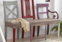 Bänke - Stühle