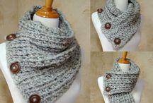 Écharpe au crochet