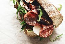 Sandwiches-Bruschettas