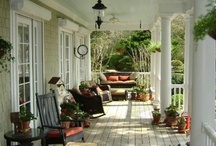 Happy Porches / ...Collecting ideas for my porch and deck that make me smile...