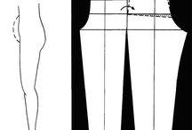 pantolon cizimleri