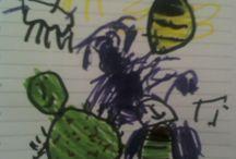 My Daughter's Drawings / by Mitko Janeski