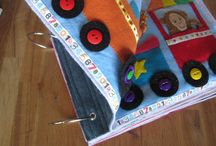 Couture :: Livres interactifs enfants // Sewing :: Quiet books for kids