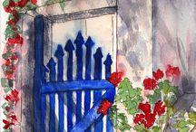 poarta albastra