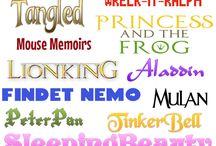Fonts / A scoop of fonts