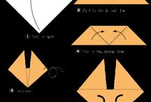 Origami for kids, paper crafts