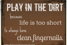 The joy of having dirty fingers!