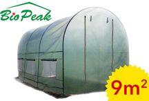 Folie ogrodowe / Tunele foliowe i folie ogrodowe produkowane przez firmę BioPeak