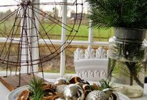 dekorasjoner, borddekking