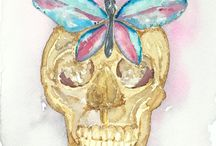 artbyaWC / watercolor paintings by artbya amanda beckmann  Http://www.etsy.com/shop/artbyaWC