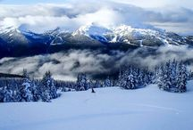 Top of Whistler 'Blackcomb' 930am / Top of whistler blackcomb- Canada this morning. Mountains, beauty, snow, Mother Nature