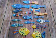 물고기 도안 2