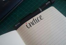 my bullet journal!!