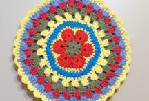 Crochet Mandalas & Stool Covers