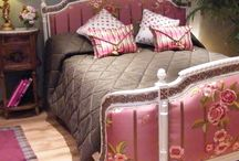 French upholstered beds
