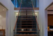 Using Glass in Stairwells / Use clever aspects of glazing to bring natural light into stairwells and staircases