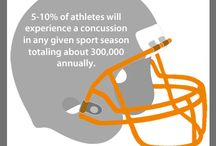 Sports Concussion infographics / Sports concussion team members at Mary Free Bed Rehabilitation Hospital have specialty training in concussion treatment and use leading edge technology and techniques. #askformary #concussion / by Mary Free Bed Rehabilitation Hospital