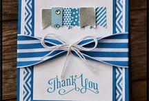 Cards--thank you / by Brigitte Kowalski