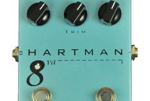 Hartman Pedals / by Sam Ash Music