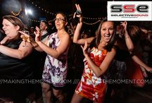 Dance Floor / Our interactive MC's will get you and your guest on the dance floor the entire night!
