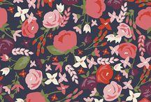 Posy Garden Blog Tour / Fabrics, Patterns, and Trims used on the Posy Garden Blog Tour