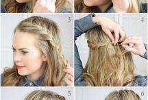 braids,makeup...♡