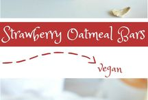 Recipes: Vegan Oats, Oatmeal and Granola
