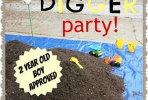 Construction Party Ideas...