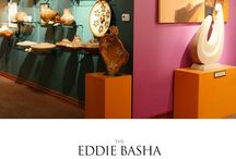 Zelma Basha Salmeri Gallery / The Eddie Basha Collection can be viewed at the Zelma Basha Salmeri Gallery located at 22402 S. Basha Road, Chandler, Arizona, 85248. The gallery is typically open Monday through Friday 9:00 am to 4:00 pm. Admission is free.