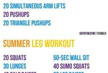 Full body workouts  / by Courtney Ostrom