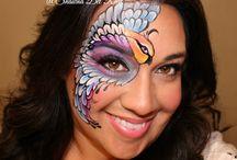 face Paint- Birds & Butterflies