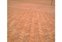 Red paving