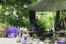 Allestimenti per feste - Party Decorations ideas / Decorazioni per feste e ricevimenti - party decorations ideas