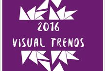 2016 Visual Trends / Visual&graphic&deco  for this 2016. Trend Hunter. The power of the visual and good designs.
